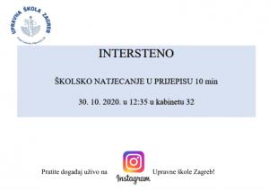 Intersteno - Upravna škola Zagreb